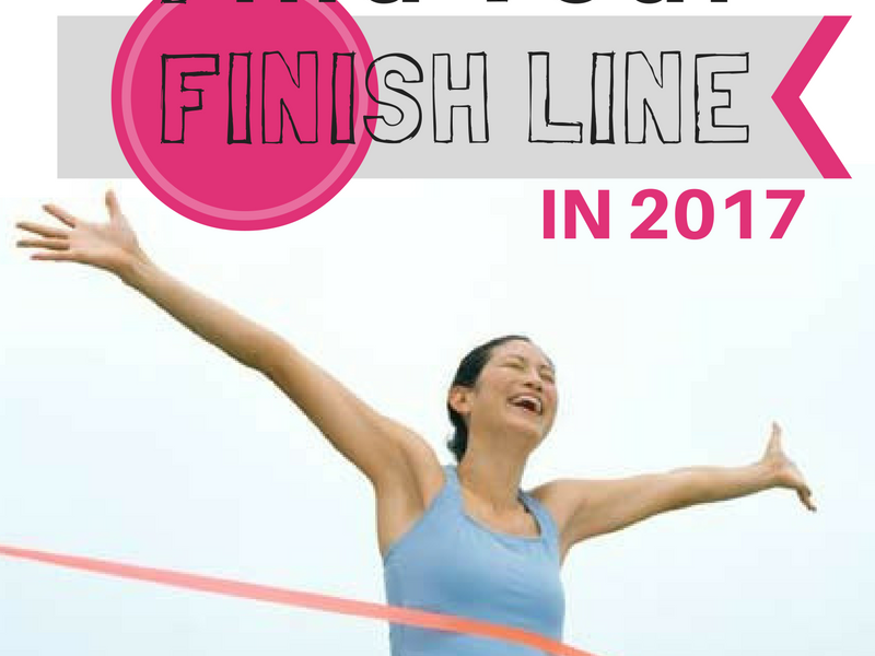 Can I Help You Find Your Finish Line in 2017!